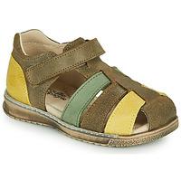 Sapatos Rapaz Sandálias Citrouille et Compagnie FRINOUI Cáqui