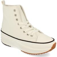 Sapatos Mulher Sapatilhas de cano-alto Buonarotti 1AP-1048 Blanco