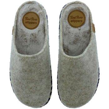 Sapatos Mulher Chinelos Toni Pons Zapatillas de Casa  Miri-Fp Crudo Bege