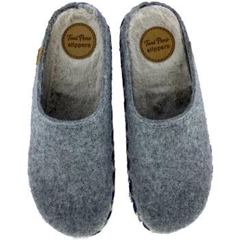 Sapatos Homem Chinelos Toni Pons Zapatillas de Casa  Nabor-Fp Gris Cinza