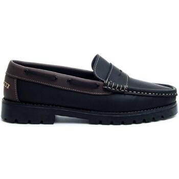 Sapatos Homem Mocassins Montevita 68078 BLACK