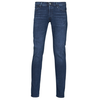 Textil Homem Calças de ganga slim Jack & Jones JJIGLENN Azul / Escuro
