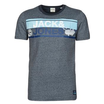 Textil Homem T-Shirt mangas curtas Jack & Jones JCONICCO Marinho