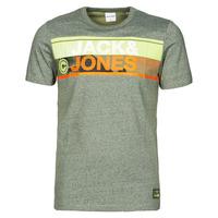 Textil Homem T-Shirt mangas curtas Jack & Jones JCONICCO Cáqui