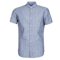 Textil Homem Camisas mangas curtas Jack & Jones JPRBLASUMMER Azul