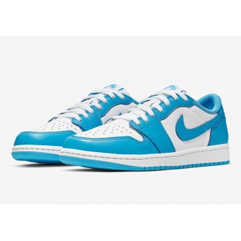 Sapatos Sapatilhas Nike Air Jordan 1 Low x SB UNC Dark Powder Blue/Dark Powder Blue-White