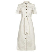 Textil Mulher Vestidos compridos Betty London ODRESS Cru