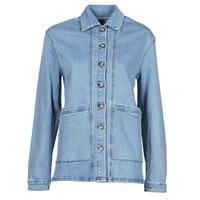 Textil Mulher casacos de ganga Betty London OVEST Azul