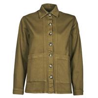 Textil Mulher casacos de ganga Betty London OVEST Cáqui