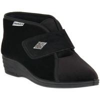 Sapatos Mulher Chinelos Emanuela 536 NERO PANTOFOLA Nero