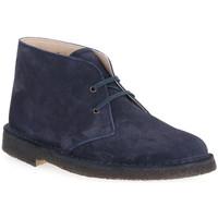 Sapatos Homem Botas baixas Isle BLU DESERT BOOT Blu