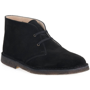 Sapatos Homem Botas baixas Isle NERO DESERT BOOT Nero