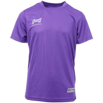 Textil Homem T-Shirt mangas curtas Hungaria  Violeta