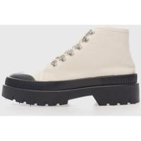 Sapatos Mulher Botins Kamome 6KM Blanco