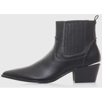 Sapatos Mulher Botins Kamome A2761 Negro