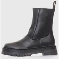 Sapatos Mulher Botins Kamome A2668 Negro