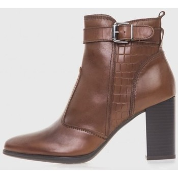 Sapatos Mulher Botins Oxyd 6841 Marrón