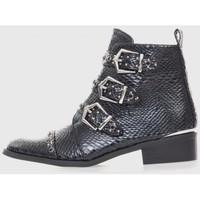 Sapatos Mulher Botins Kamome A2730 Negro