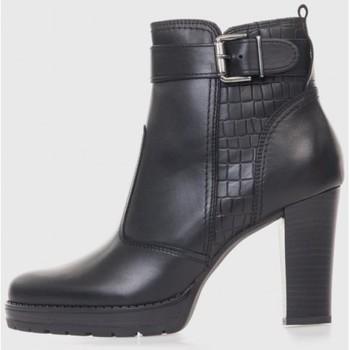 Sapatos Mulher Botins Oxyd 4111 Negro