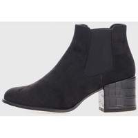 Sapatos Mulher Botins Kamome DANIELA VEGA L-1701C Negro