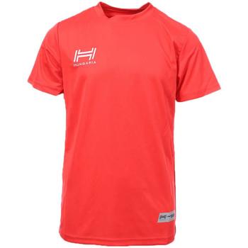 Textil Homem T-Shirt mangas curtas Hungaria  Vermelho