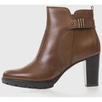 Sapatos Mulher Botas baixas Oxyd 5095 Marrón