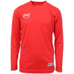 Textil Homem T-shirt mangas compridas Hungaria  Vermelho
