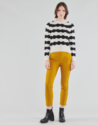 Textil Mulher Chinos Only ONLGLOWING Amarelo