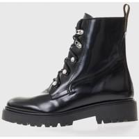 Sapatos Mulher Botas baixas Bryan 4307 Negro