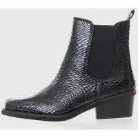 Sapatos Mulher Botas baixas Kamome A2770 Negro