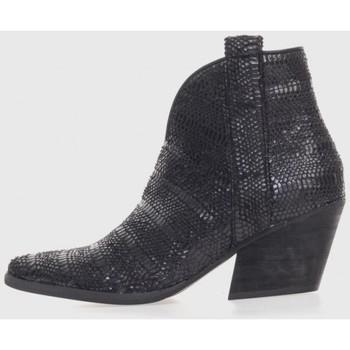 Sapatos Mulher Botas baixas Kamome A2820 Negro