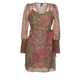 Textil Mulher Vestidos curtos Vero Moda VMABELIA Verde / Vermelho