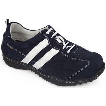 Sapatos Homem Sapatilhas Calzamedi SAPATOS DIABÉTICOS DE ESPORTES BLUE