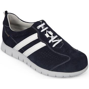 Sapatos Homem Sapatilhas Calzamedi MEIAS DE DESPORTO DIABÉTICO M 2159 AZUL