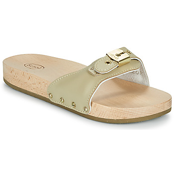 Sapatos Mulher Chinelos Scholl PESCURA FLAT Bege
