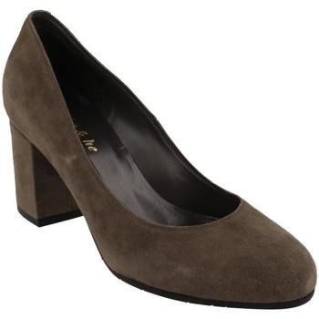 Sapatos Mulher Escarpim She - He  Gris