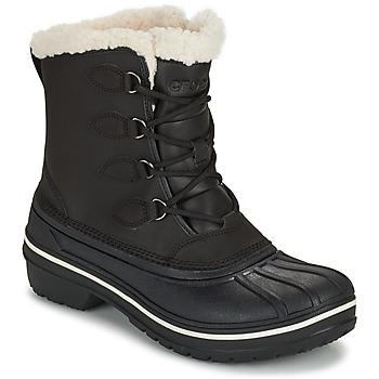 Sapatos Mulher Botas baixas Crocs ALL CAST II BOOT W Preto