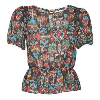 Textil Mulher Tops / Blusas Naf Naf MELIS C1 Marinho