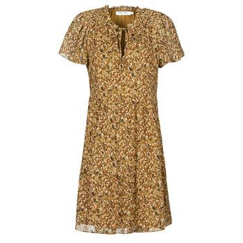 Textil Mulher Vestidos curtos Naf Naf MARIA R1 Camel