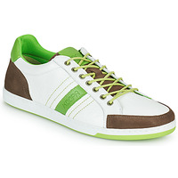 Sapatos Homem Sapatilhas Kdopa MARIANO Branco / Verde