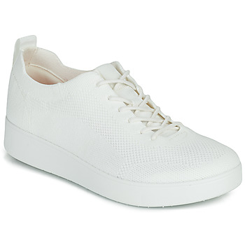 Sapatos Mulher Sapatilhas FitFlop RALLY TOTAL KNIT Branco