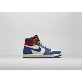 Sapatos Sapatilhas de cano-alto Nike Air Jordan 1 High x LA Union
