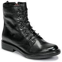 Sapatos Mulher Botas baixas Mjus CAFE Preto