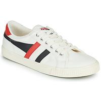 Sapatos Homem Sapatilhas Gola TENNIS MARK COX Branco / Preto / Vermelho