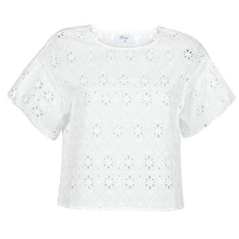Textil Mulher Tops / Blusas Betty London OCHERIE Branco