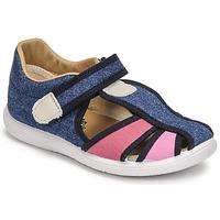 Sapatos Rapariga Sandálias Citrouille et Compagnie GUNCAL Azul / Ganga