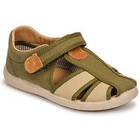 Sapatos Rapaz Sandálias Citrouille et Compagnie GUNCAL Cáqui