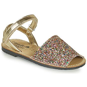 Sapatos Rapariga Sandálias Citrouille et Compagnie SQUOUBEL Multicolor