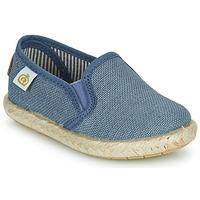 Sapatos Rapaz Sapatilhas Citrouille et Compagnie OSIOUP Azul