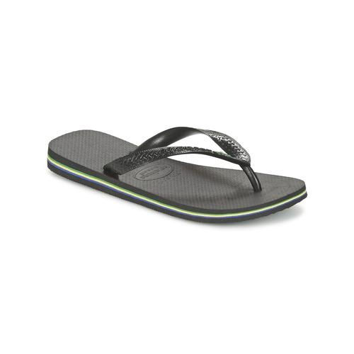 Sapatos Chinelos Havaianas BRASIL Preto